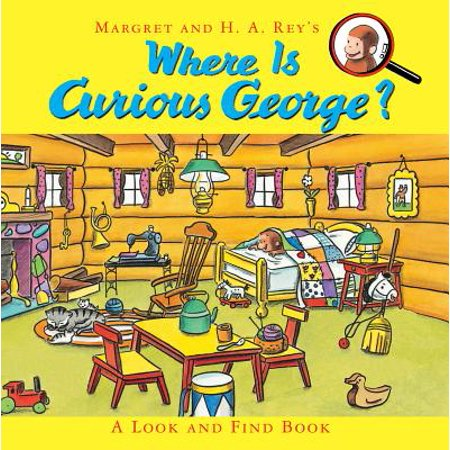 Where Is Curious George? : A Look and Find Book for $<!---->