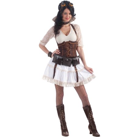 Steampunk Sally Costume wCorset Adult