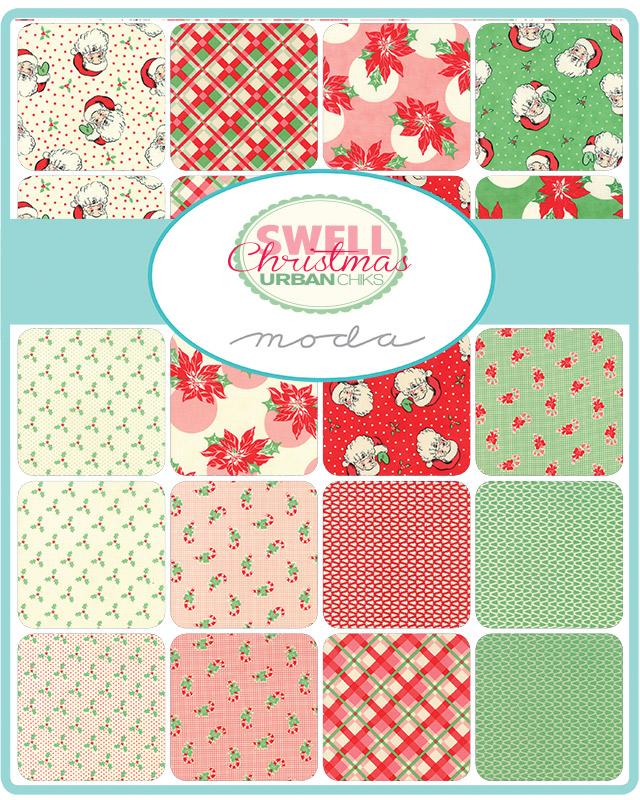 Moda Swell Christmas 18pc Fat Quarter 18x21 Bundle
