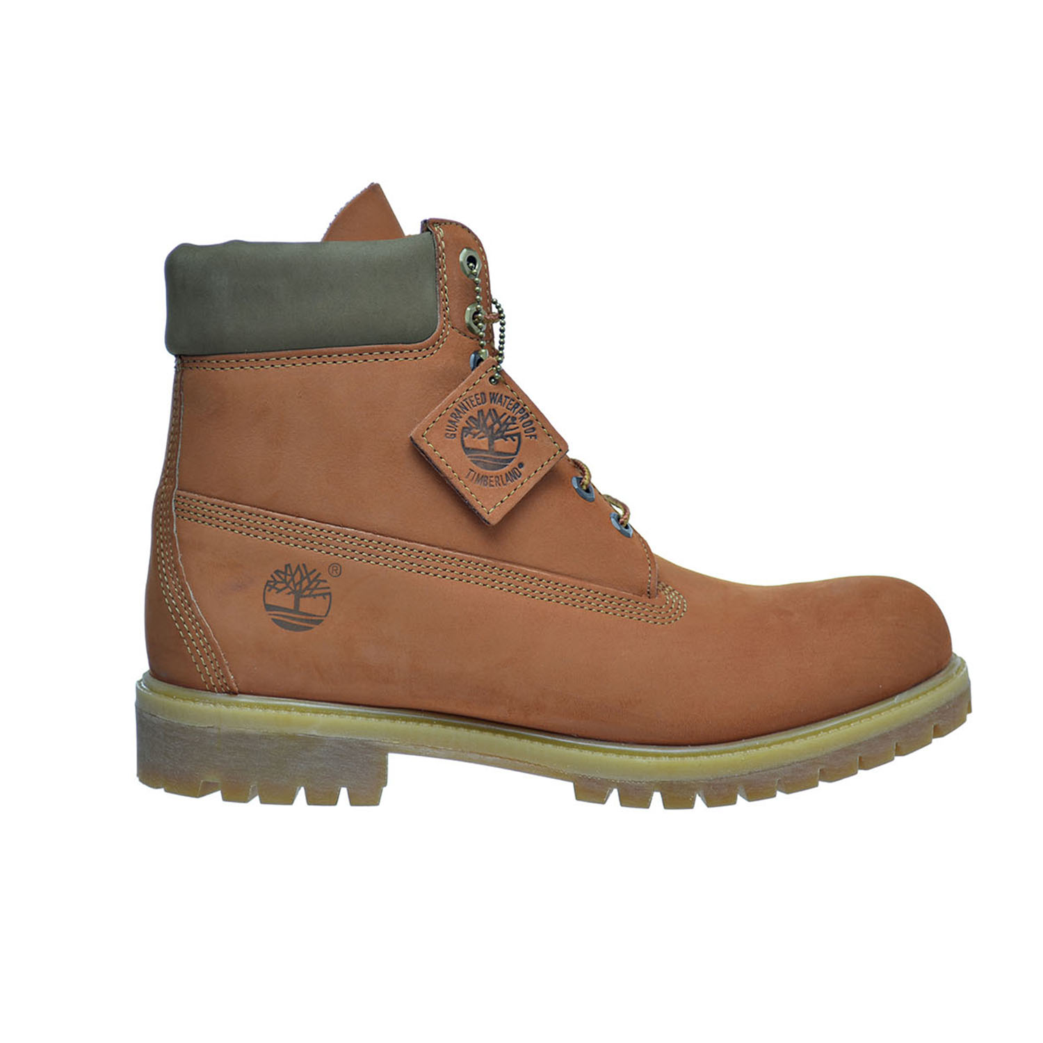 Timberland 6 Inch Men's Premium Boots Orange tb0a17yc by Timberland