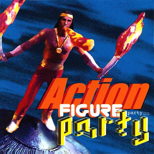 Action Figure Party - Action Figure Party [CD]