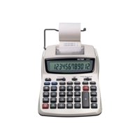 Victor 1208-2 - Printing calculator - LCD - 12 digits - AC adapter - white