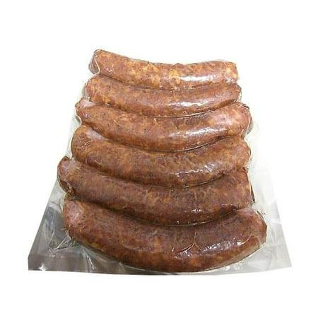 Smoked Pork Slovenian Sausage, approx. 6 links, 1.4-1.8 lbs - Sausage Link