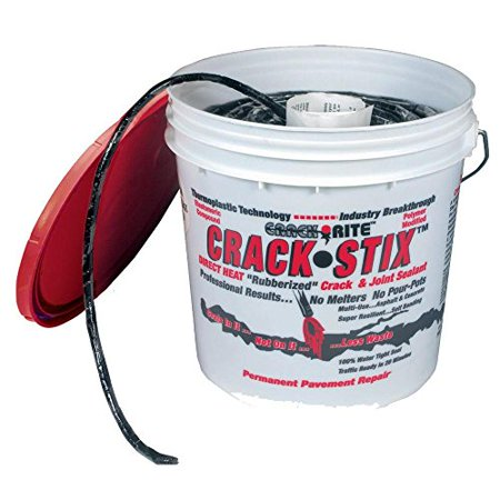 Crack-Stix 2 Gal. 250 ft. Small Black Permanent Blacktop Crack