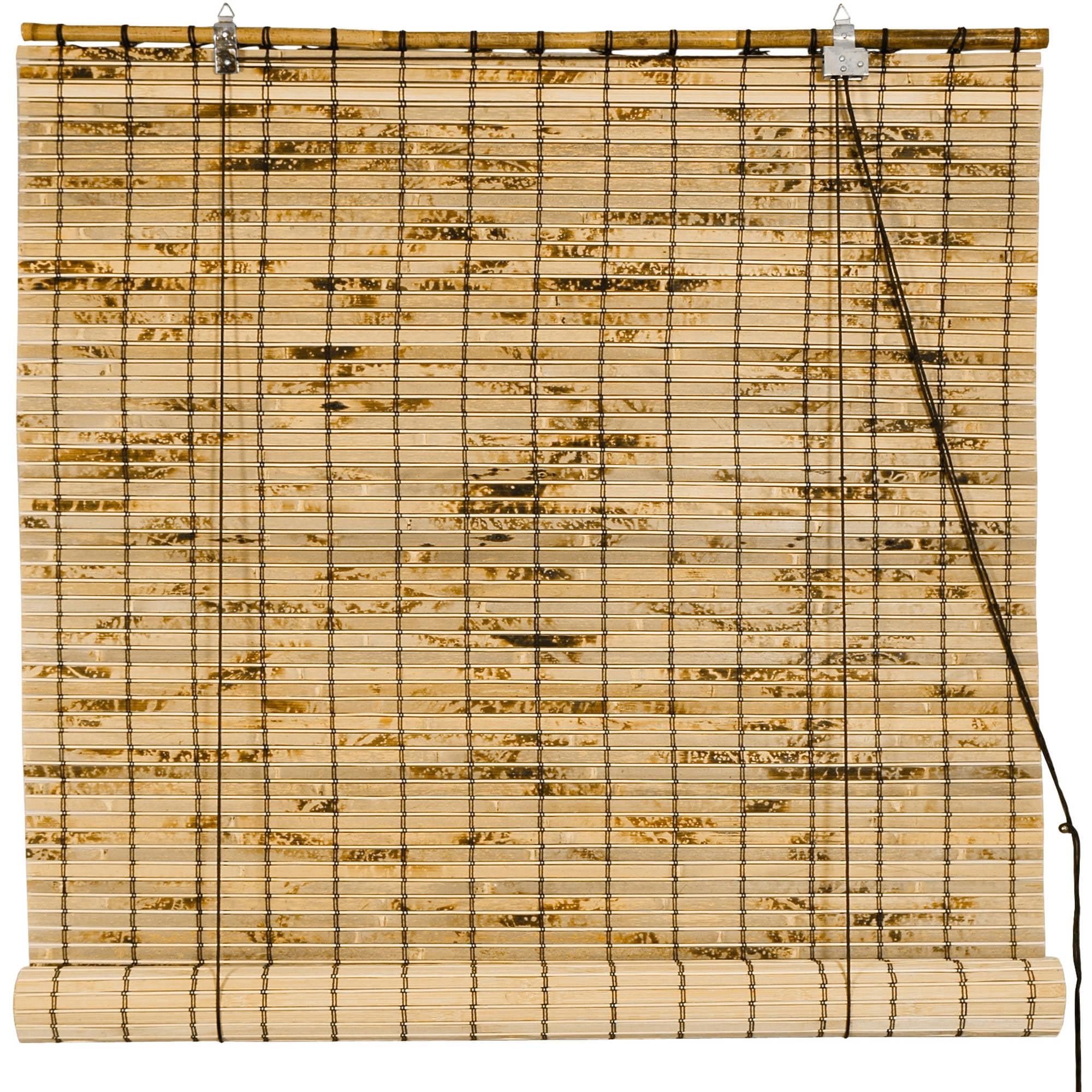 Bamboo Roll Up Blinds Walmart Com
