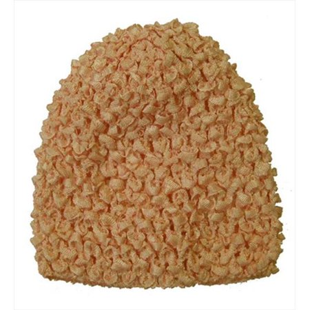 Crochet Hair Walmart : CoverYourHair 50298 Peach Crochet Baby Hat - Walmart.com