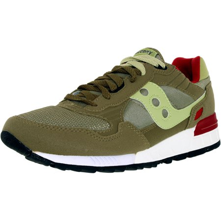 59aa02c9ffae Saucony Women s Shadow 5000 Olive Ankle-High Leather Fashion Sneaker ...