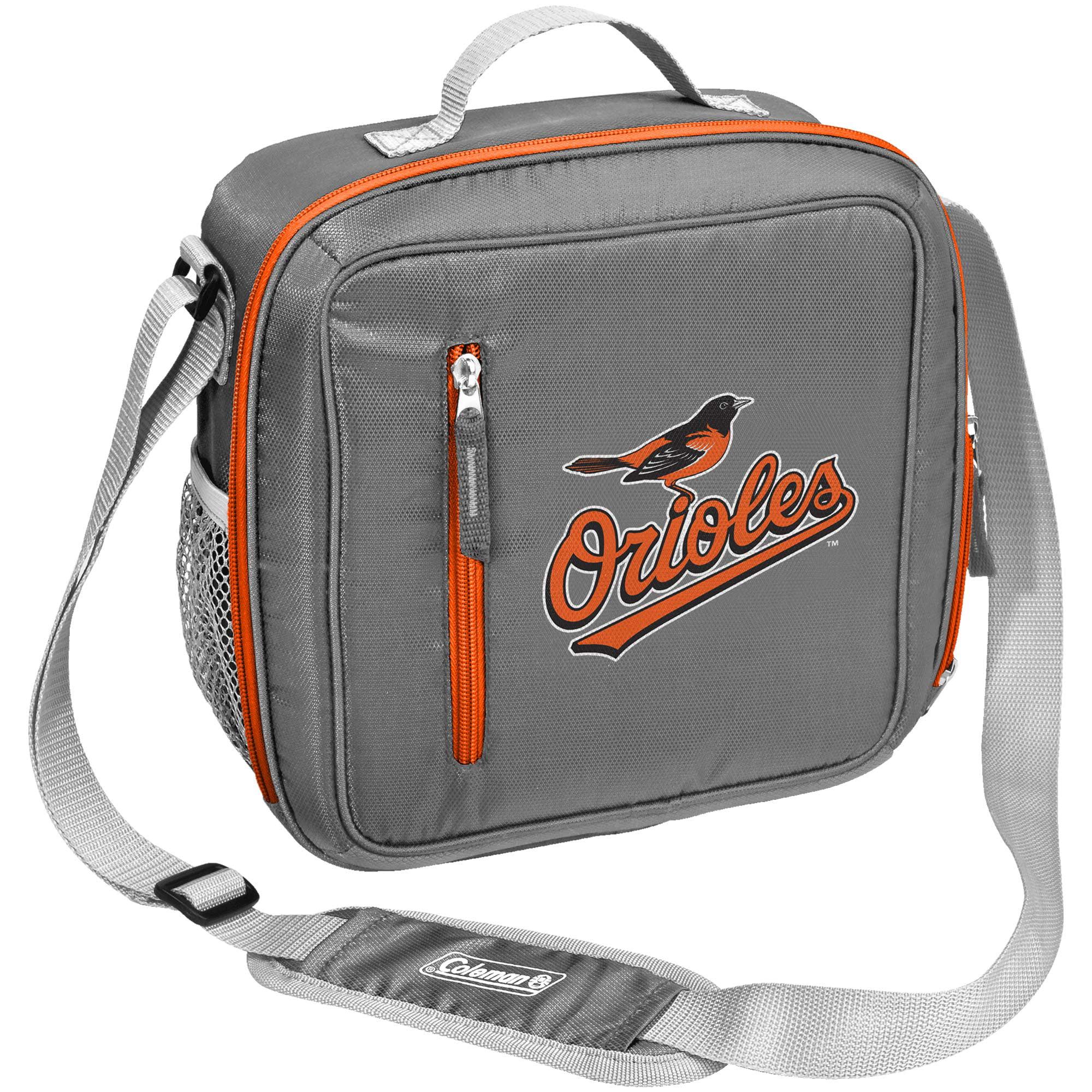 Baltimore Orioles Coleman Team Logo Messenger Cooler - No Size