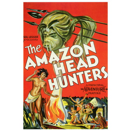 The Amazon Head Hunters Poster Movie  27X40