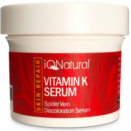 Vitamin K Spider Vein Treatment Cream | Treats Hyper pigmentation, Lightening & Whitening Dark Spots, Spider Veins Scars, Discolorations, Uneven Skin