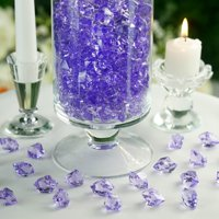 Efavormart 300 pcs Large Acrylic Ice Crystals Vase Fillers Wedding Party Table Scatters Decorations