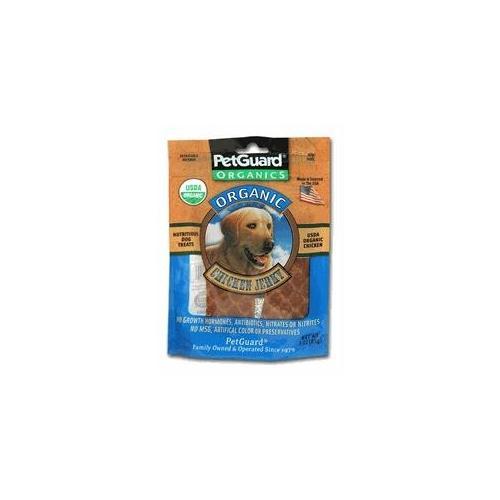 Petguard 35883022054 DOG ORANIC JERKY CHICKEN 3OZ