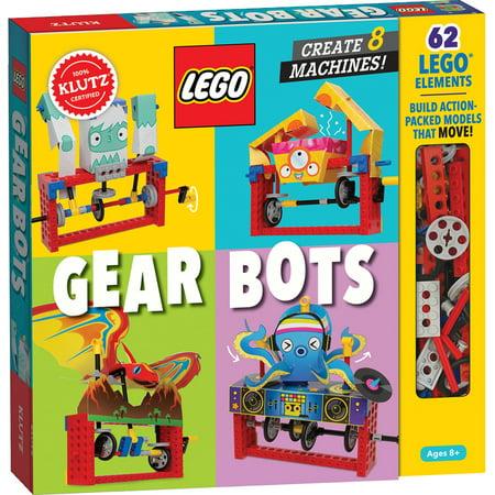 Lego Gear Bots : Create 8 Machines (Hardcover)