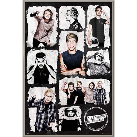 5 Seconds Of Summer 5sos Framed Music Poster Print Photo