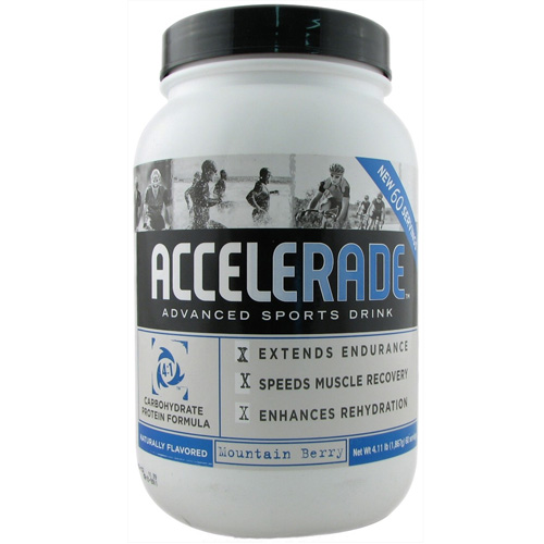 Endurox Accelerade Advanced Sports Drink, Mountain Berry - 4.11 Lbs