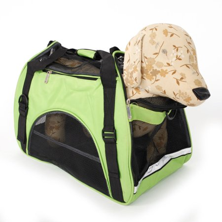 Ktaxon Hollow-out Portable Breathable Waterproof Comfort Pet Handbag L Green - image 2 of 7