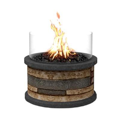 Bond Mfg 51163 Breckenridge Outdoor Fireplace, 10,000-BTU, 10 x 10 x 9-In. - Quantity 1 ()