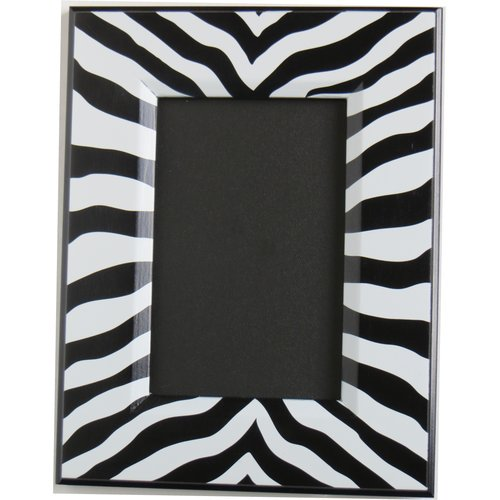Presto Chango Decor Zebra Print Picture Frame Walmart Com Walmart Com