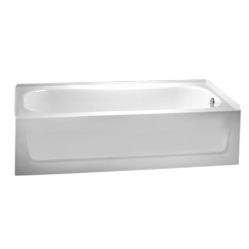 Crane Faucet Neu San Marcos 60'' ArmorPlus Bathtub with R...