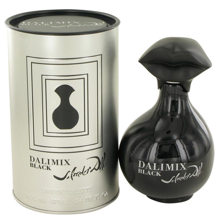 Salvador Dali Dalimix Black Eau De Toilette Spray for Women 3.4 oz
