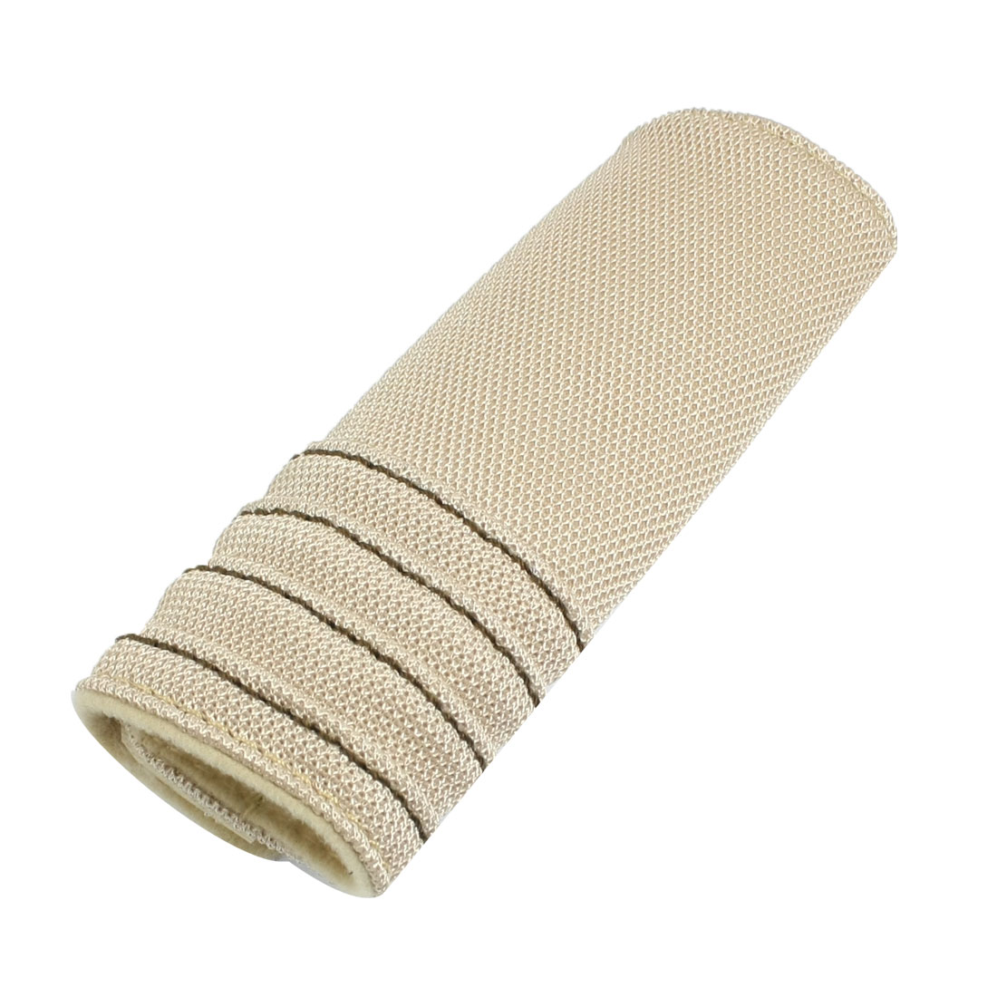 Car Emergency Parking Antislip Hand Brake Handle Cover Pad Beige