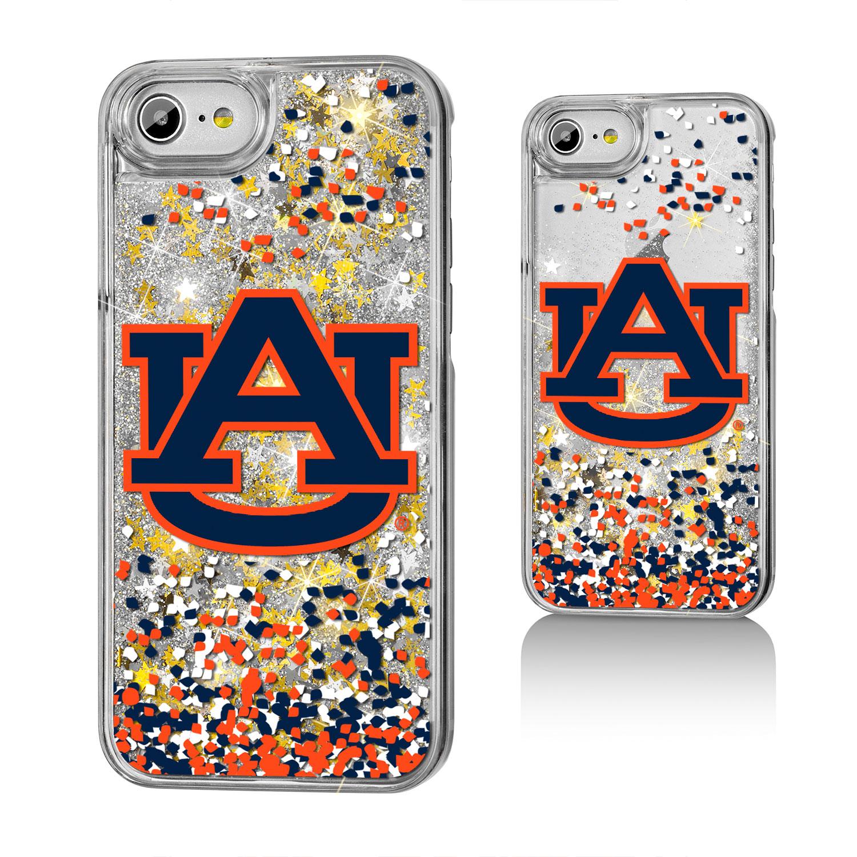 AU Auburn Tigers Confetti Glitter Case for iPhone 8 / 7 / 6