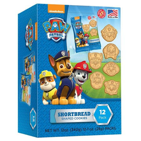 Paw Patrol Shortbread Cookies (12 Count)