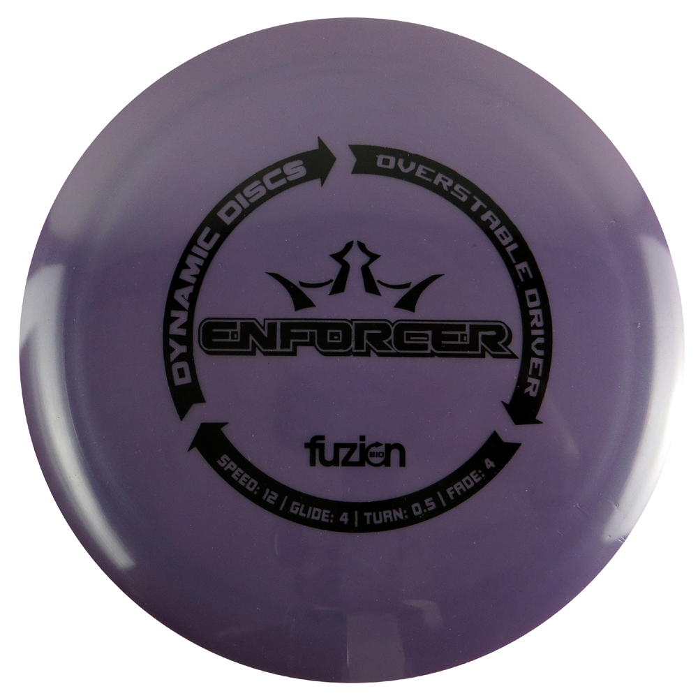 Dynamic Discs BioFuzion Enforcer 170-172g Distance Driver Golf Disc [Colors may vary] - 170-172g