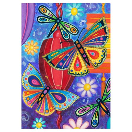 Toland Home Garden Bright Wings Flag](Peanuts Garden Flags)