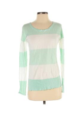 Green Garnet Hill Womens Sweaters