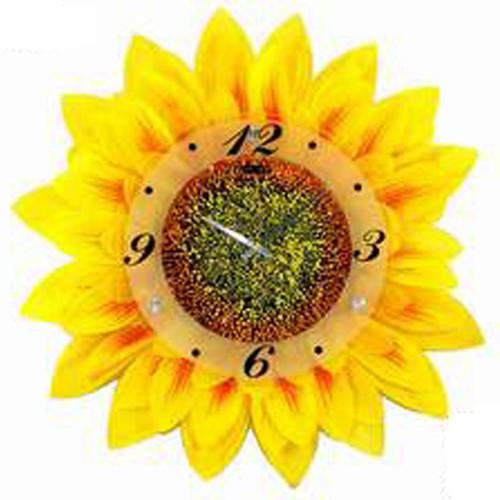 Creative Motion 17.34'' Sunflower Wall Clock