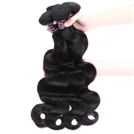Allove Brazilian Virgin Hair Body Wave 10 Bundles Deal Wholesale Price Virgin Hair Extensions,