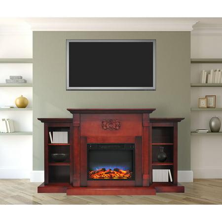 Cambridge Sanoma Electric Fireplace Heater with 72