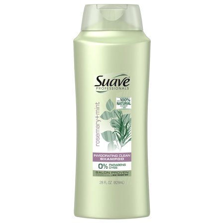 - (2 Pack) Suave Professionals Rosemary + Mint Shampoo, 28 oz