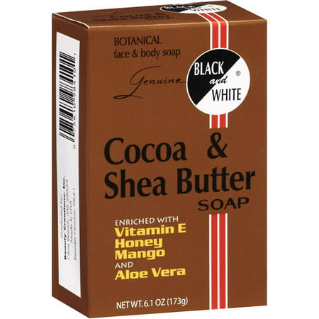 how to use black soap and shea butter