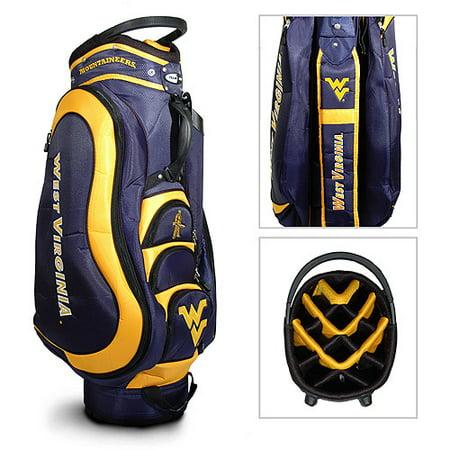 Team Golf NCAA West Virginia Medalist Golf Cart Bag