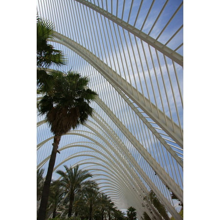 Canvas Print Valencia Architecture City of Arts and Sciences Stretched Canvas 10 x 14
