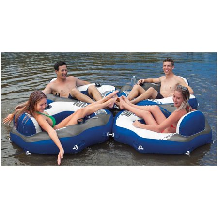 Intex Mega Chill Inflatable Beverage Coolers & River Run Lounge Inflatable Tubes - image 10 of 11