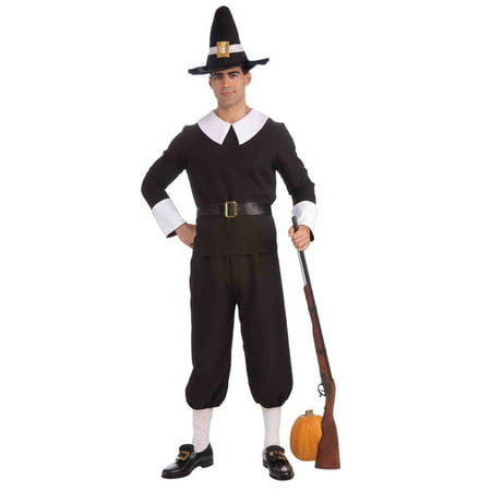 Pilgrim Man Adult Costume (Kids Pilgrim Costumes)