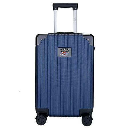 Oklahoma City Thunder Premium 21'' Carry-On Hardcase Luggage - Navy