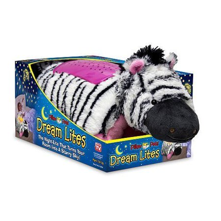 Dream Lites Zippity Zebra Pillow Pets ()