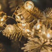 Christmas Tree Room Party Decoration Light Snowflake Deer Stars Light String