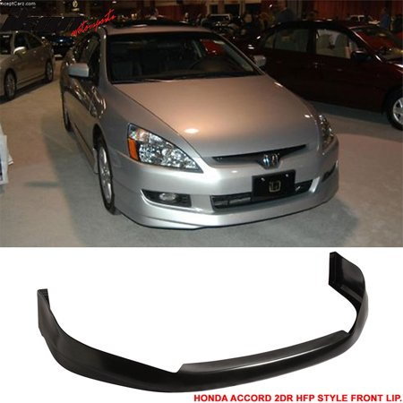 Fits 03-05 Honda Accord 2Dr Urethane Front Bumper Lip Spoiler Hfp-Style
