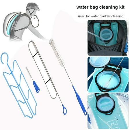 Gobestart NEW 4 in 1 Hydration Pack Bladder Hanger For Fit Cleaning Kit Brushes Camelbak Brush Set