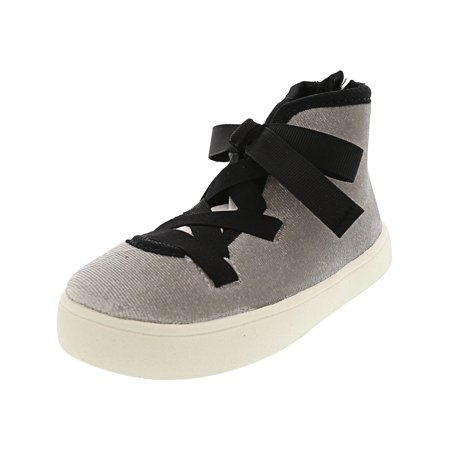 Carter'S Anisha Grey Ankle-High Patent Leather Fashion Sneaker - 7M ()