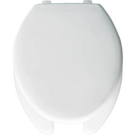 Awesome Church 390Tl Commercial Plastic Elongated Toilet Seat White Theyellowbook Wood Chair Design Ideas Theyellowbookinfo
