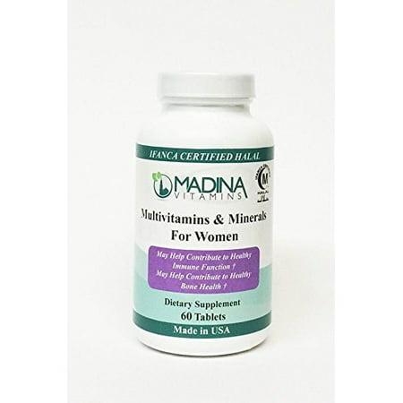 (Madina Vitamins Halal Multivitamins & Minerals For Women (60 Tablets))
