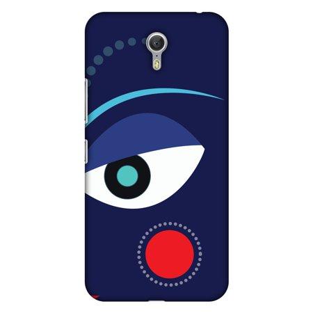 Lenovo ZUK Z1 Case, Premium Handcrafted Printed Designer Hard ShockProof Case Back Cover for Lenovo ZUK Z1 - Divine Goddess - Blue - Goddess Blue