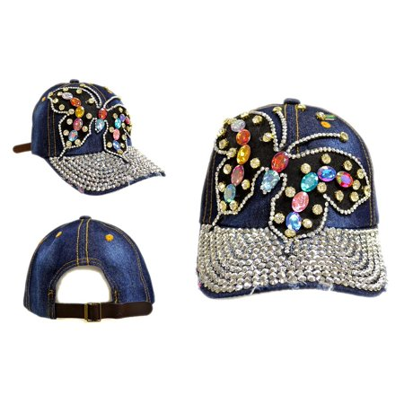 Women's Butterfly Rhinestone with Bling Studed