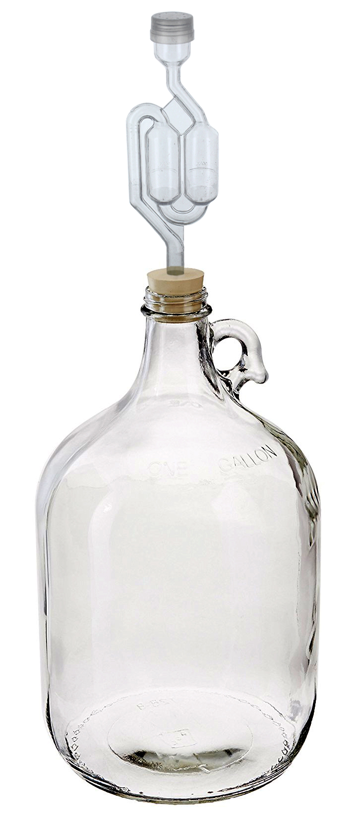 Pack of 2 AKUnlimited Twin Bubble Airlock and Carboy Bung